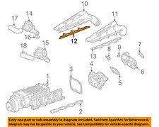 MERCEDES OEM 05-11 G55 AMG Supercharger-Manifold Gasket 1130980080