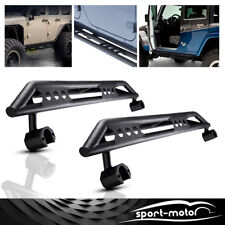 for 2007-2018 Jeep Wrangler JK & Unlimited 4 Door Side Steps Nerf Bars Guards