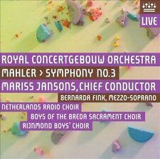 Mahler: Symphony No. 3 Super Audio Hybrid CD (CD, Apr-2011, 2 Discs, RCO)