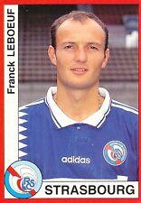 N°291 FRANCK LEBOEUF RC.STRASBOURG VIGNETTE PANINI FOOTBALL 95 STICKER 1995