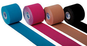 Tiger K Kinesiology Tape 5cm x 5m Sports Physio Muscle Strain Injury Support