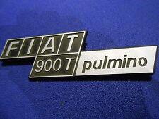 Fiat  900 T pulmino  Stemma Fregio Badge logo Abzeichen Schild
