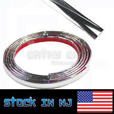 12mm Car Decoration MOULDING Trim Decorative Strip Chrome Silver By The Foot