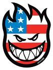 SPITFIRE WHEELS- USA- llameante Cabeza Adhesivo de skateboard