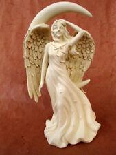 Engel *Mondlicht* Figur Schutzengel Geburt Taufe Grabschmuck Skulptur - 20030