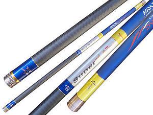 Telescopic 64Ton Carbon Lightweight Strong Sensitive Fishing Rod Pole 11-15M