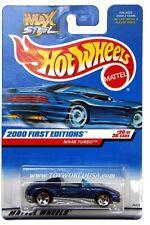 2000 Hot Wheels #80 First Edition MX48 Turbo 5 spoke