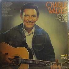 Charlie Walker - I Don't Mind Goin' Under (If It'll Get Me (RCA LSP 4737) sealed