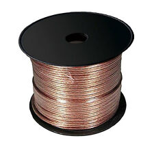 CABLE HAUT PARLEUR 2 X 4 mm² OFC -20m hp transparent