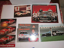 LOT OF 42 CAR RACING MEMORABILIA - MAGS, CARDS & MORE - BN-9