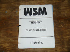 Kubota B2320 B2620 B2920 Tractor Shop Service Repair Manual
