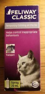 FELIWAY Classic 20Ml Spray, Calming Cat Behavioural Stress & Travel Relief*