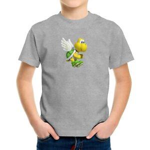 Toddler Kids Tee T-Shirt Infant Baby Bodysuit Gift Print Cute Koopa Turtle Mario