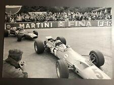 1968 Bruce McLaren McLaren M7A-Cosworth F1 Race Car Print Picture Poster RARE