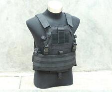TMC Tactical Military 6094A style Swat Black SLICK Medium Plate Carrier Vest