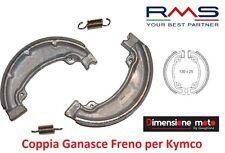 "75014 - Coppia Ganasce Freno ""RMS"" per KYMCO Agility RS R12 125 4T dal 2009"