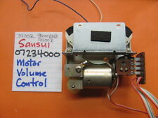 SANSUI 07234000 MOTOR CONTROLLED VOLUME MECHANISM STEREO RECEIVER 7900Z 9900Z