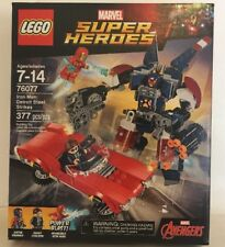 LEGO Marvel Super Heroes 76077 Iron Man: Detroit Steel Strikes Building Set New