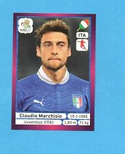 PANINI-EURO 2012-Figurina n.327- MARCHISIO - ITALIA -NEW-DARK BOARD