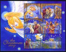 Guernsey MiNr. Bl. 32 ** Weihnachten: Die Weihnachtsgeschichte