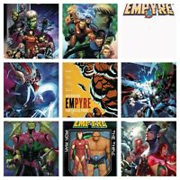 🔥 EMPYRE #1 (MARVEL,2020) LOT OF 9 REGULAR COVER SET ;MCGUINNESS,CHO,FINCH ++🔥