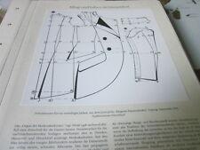 Düsseldorf Archiv 5 Alltag 5041 Schnittmuster einreihiges Jakett 1913 Damenmoden