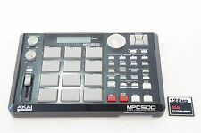 AKAI MPC500 Memory Full Expanded Portable Music Production Sampler w/ CF