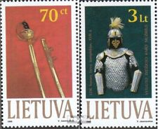 Lithuania 712-713 (complete issue) unmounted mint / never hinged 1999 Vytautas