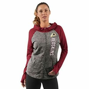 G-III 4her Washington Redskins Women's Trophy Full Zip Hoody Sweatshirt