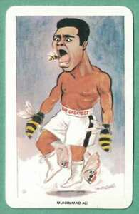 MUHAMMAD ALI 1979 VENORLANDUS #3 Boxing Card well centered!