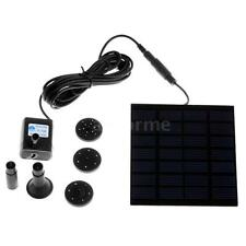 150L/H Solar Power Water Pump for Garden Fountain Pool Pond Watering Decor D4P1