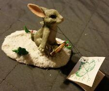 Charming Tails Binkey The Rabbit, Snow Shoeing Figurine * New In Box