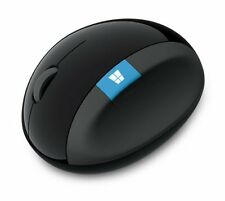 Microsoft Wireless Mouse High-resolution Reading Sensor Blue L6V-00013 Japan