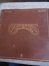 THE CARPENTERS THE SINGLES 1969-1973 STEREO VINYL RECORD ALBUM A&M