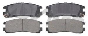 Disc Brake Pad Set-FWD Rear ADVICS AD0383