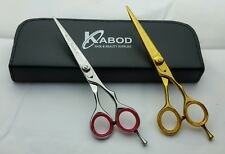 Professional Salon Hair Cutting Scissors Barber Shears Hairdressing Set 6.""