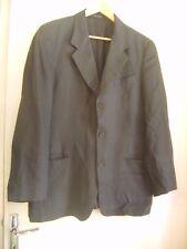 Belle veste EMPORIO ARMANI bleu marine en 100 % lin taille 52 IT ou 48 FR