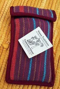 Maya Traditions Guatamalan Padded Bag FairTrade Hand Woven Festival/Boho/Phone