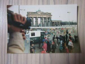 Altes Foto ~ BERLIN Mauer am Brandenburger Tor ~ aufgenommen im November 1989 ~