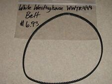 White Westinghouse Bread Machine Parts Belt Wwtr444