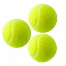 Tennis Balls Sports Outdoor Fun Cricket Beach Dog pet play low bonce pack of 3