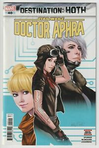 DOCTOR APHRA #40 - Vol. 1 Ashley Witter Cover A 1st Typhon Mandalorian 2020 NM-