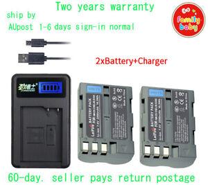 2 Battery+LCD1 for Nikon EN-EL3 EN-EL3a EN-EL3e D100 D200 D300 D300s D90 D700 AU
