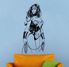 Wonder Woman Wall Decal Vinyl Sticker Comics Superhero Atr Murals Wall Decor 2