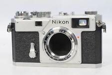 Nikon S3 Rangefinder Camera Chrome Year 2000 Millennium Model #910