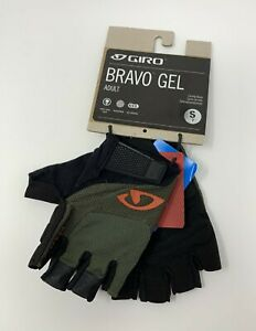 Giro Bravo Gel Cycling Gloves Size Small New with Tags Green