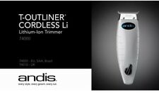 Andis Professional Cordless T-Outliner Li Trimmer 74000- NEW- FAST SHIPPING