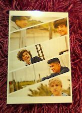 "One Direction Liam, Louis, Harry, Zayn & Niall 6"" x 4"" Card Photo Print 2012 #15"