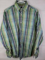 Robert Talbott Mens Long Sleeve Shirt Medium Size