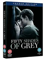 Fifty Shades of Grey: The Unseen Edition [DVD] [2015] New Sealed